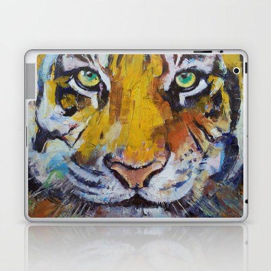 Tiger Psy Trance Laptop & iPad Skin