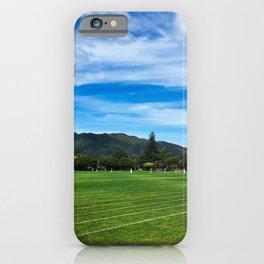 Maidstone Park Sports Ground iPhone Case