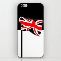union jack iPhone & iPod Skins featuring Union Jack by Visually Interesting