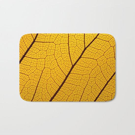 Leaf Macro Bath Mat