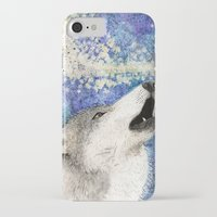 howl iPhone & iPod Cases featuring Howl by Georgia Roberts