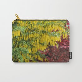 Warm comforting autumn trees Carry-All Pouch