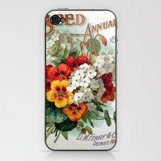 Seed Annual iPhone & iPod Skin