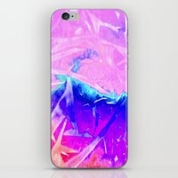 Aurora 3 - Ultraviolet iPhone & iPod Skin
