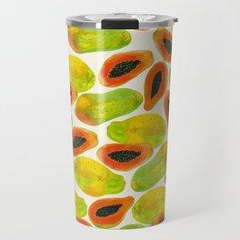 Plentiful Papaya Travel Mug