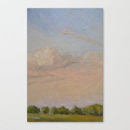 Sunset Painting Canvas Print