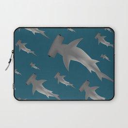 Hammerhead shark school Laptop Sleeve