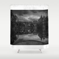portugal Shower Curtains featuring AMARANTE, Portugal by Elias Silva Photography