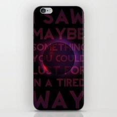 Drainage iPhone & iPod Skin
