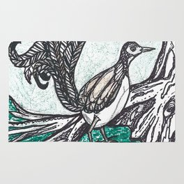 Lyrebird Rug