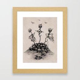 Skulls & Crosses - Pirate Conquest Framed Art Print