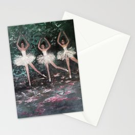 Ballerinas in the Park Stationery Cards