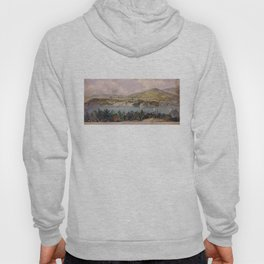 Panorama of West Point from Constitution Island by John Rubens Smith (c 1820) Hoody