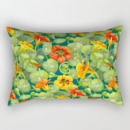 Nasturtium pattern Rectangular Pillow