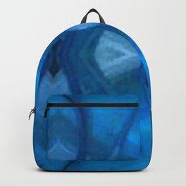 Pattern III Blue Backpack
