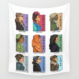 She Series - Real Women Collage Version 1 Wall Tapestry