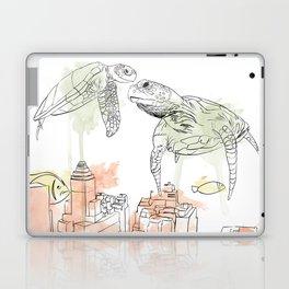Urban Coral Laptop & iPad Skin