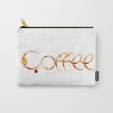Coffe colors fashion Jacob's Paris Carry-All Pouch