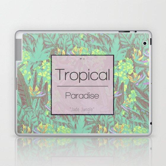 Tropical Paradise: Jade Jungle Laptop & iPad Skin