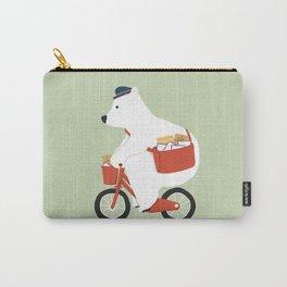 Polar bear postal express Carry-All Pouch