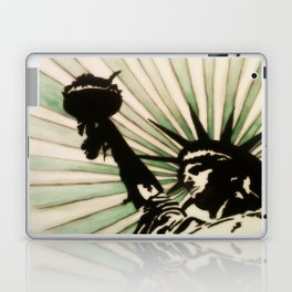 Lady Liberty! Laptop & iPad Skin