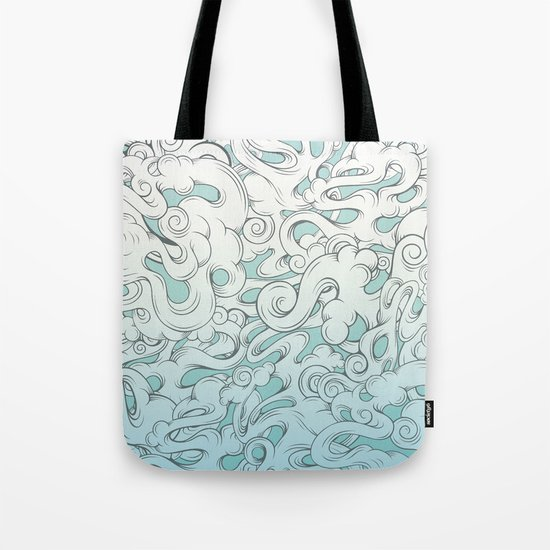 Entangled Clouds Tote Bag