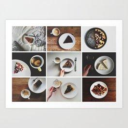 Morning stories - SWEET set Art Print