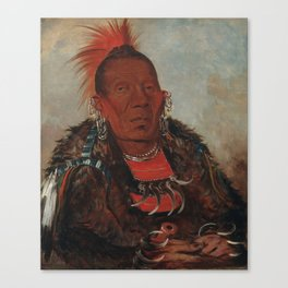 The Surrounder, Chief of the Tribe Canvas Print