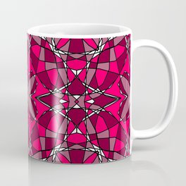 Ruby Stained Glass 1 Coffee Mug