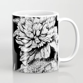 Image result for coffee mugs and flowers