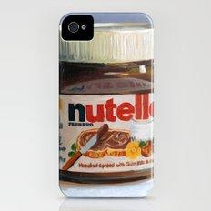 Nutella Oil Painting iPhone (4, 4s) Slim Case