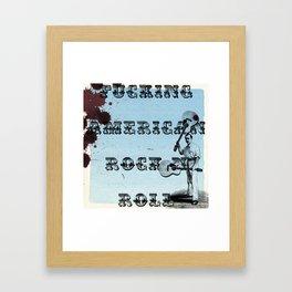 Rock N Roll Framed Art Print