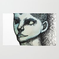 avatar Area & Throw Rugs featuring Avatar by MelPetrinack