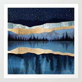 Midnight Lake Kunstdrucke
