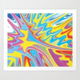 Force of Splash   Art Print