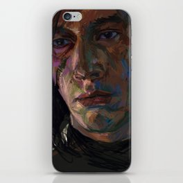 Brooding Muse iPhone Skin