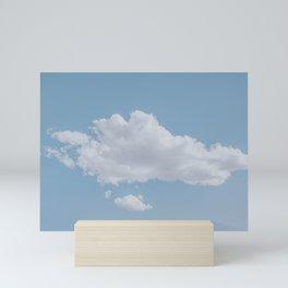 summer clouds Mini Art Print