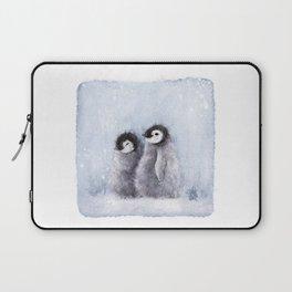 Cute Penguins (Thefreeminder) Laptop Sleeve