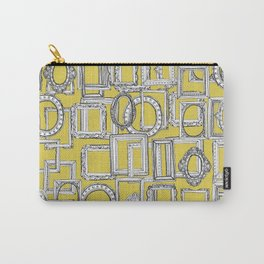 picture frames aplenty yellow Carry-All Pouch