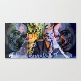 shadow death hero's DALI Canvas Print