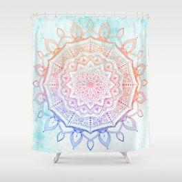 Floral Mandala Shower Curtain
