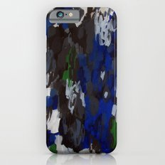 No. 69 Modern Abstract Painting iPhone 6s Slim Case