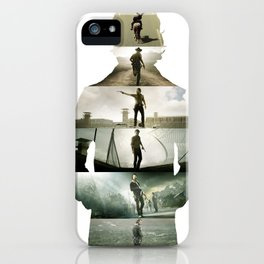 Grimes Silhouette iPhone Case