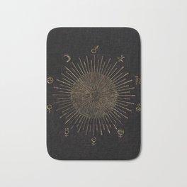 Astronomy Symbols Bath Mat