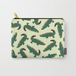 crocodile pattern Carry-All Pouch