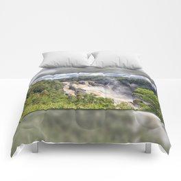Magnificent Barron Falls Comforters