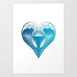 Heartfelt Art Print