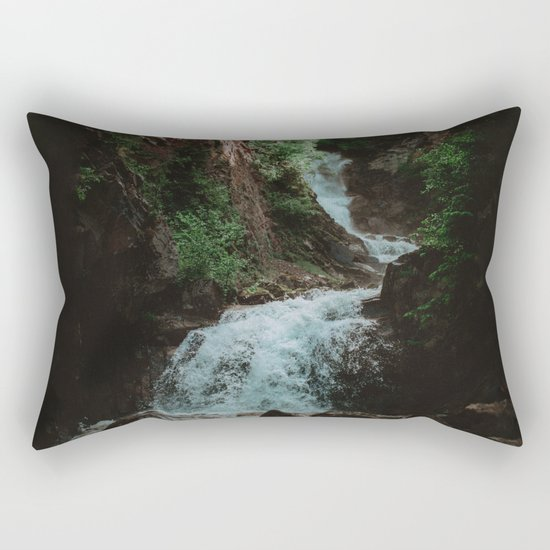 Alaska Waterfall Rectangular Pillow