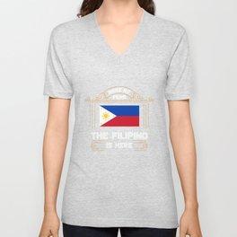 Funny Filipino Unisex V-Neck
