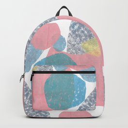 Gathering Graphic Abstract Print Backpack